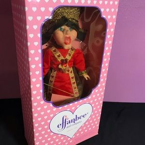 Effanbee Queen of Hearts ♥️ Collectible Doll Boxed